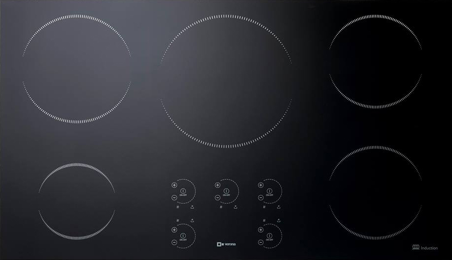 Verona 36%22 Induction 5-Zone Cooktop
